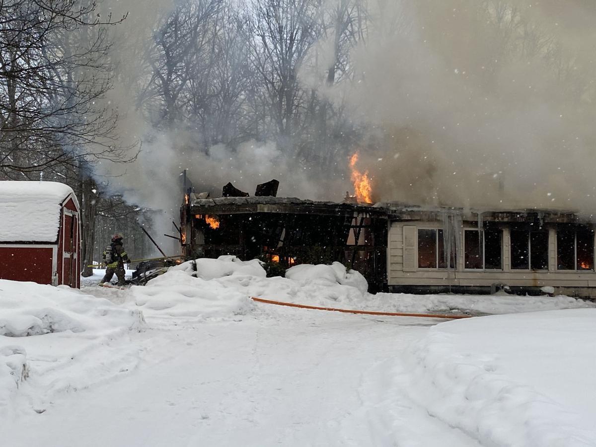 Structure fire Feb. 19