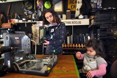 Cell phones & hard drives for diapers: Madison single mom starts electronic recycling business