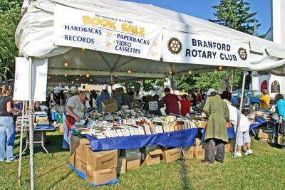 Look no further for your summer reading, visit Rotary used book tent
