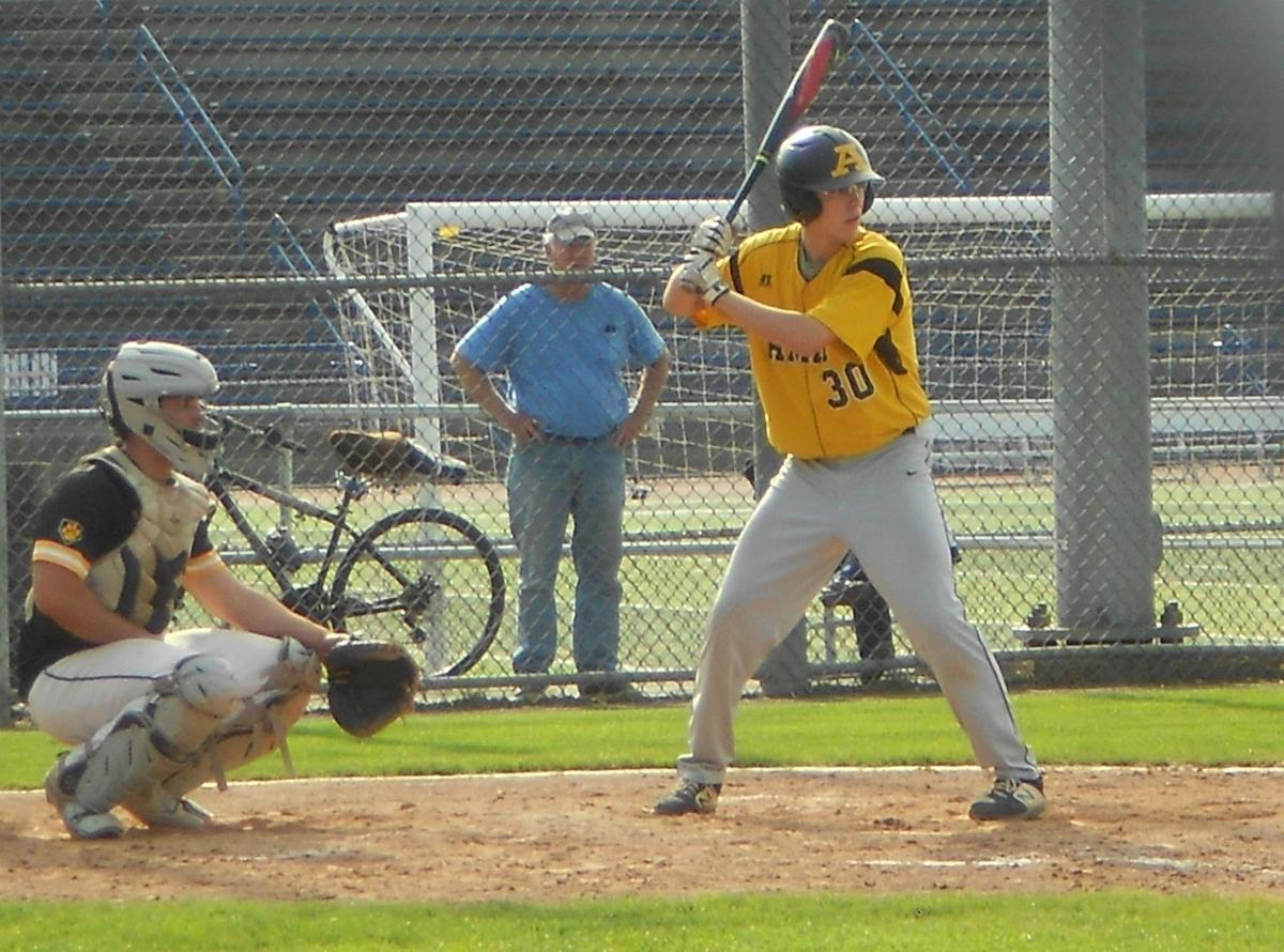 Two-out, fourth-inning rally sends Amity past Hand into SCC final