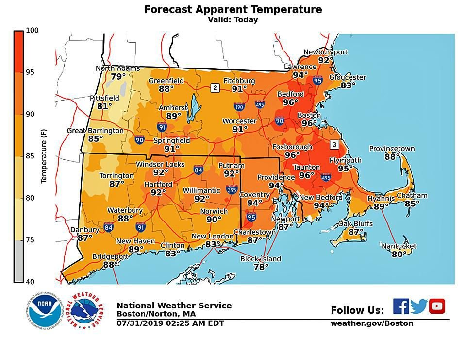July by the numbers: Record temperatures, rainfall