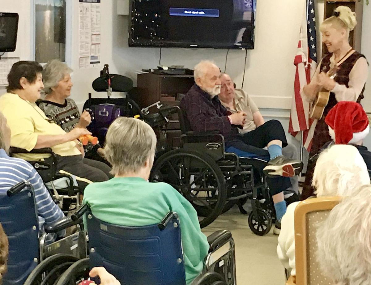 Friendly Visiting program inspires silent woman to sing in Guilford