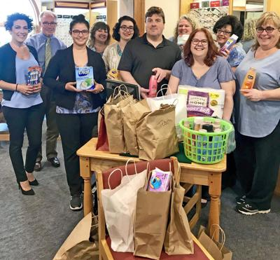 Branford Optometric Associates donates personal care items in honor of BHcare volunteer