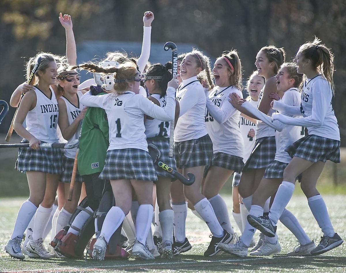 Guilford holds off Hand for Class M field hockey title