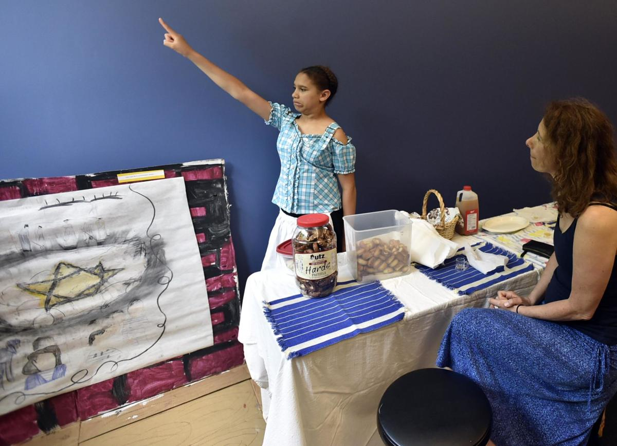 Branford's CELC school students part of 'Living Museum'