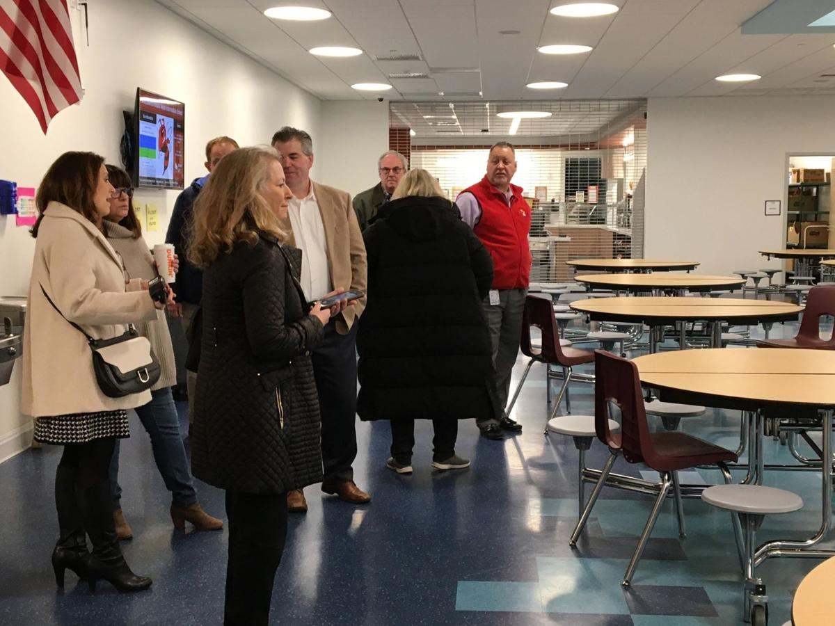 Branford, school officials impressed by new wing at $68.5 million Walsh Intermediate School project