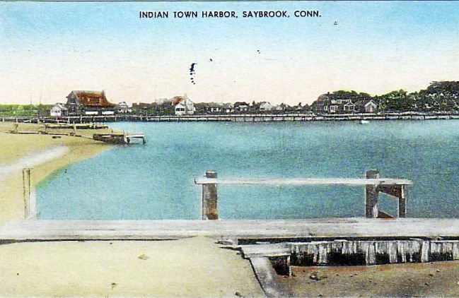 Beach Indian Town Copy Harbor Old Saybrook