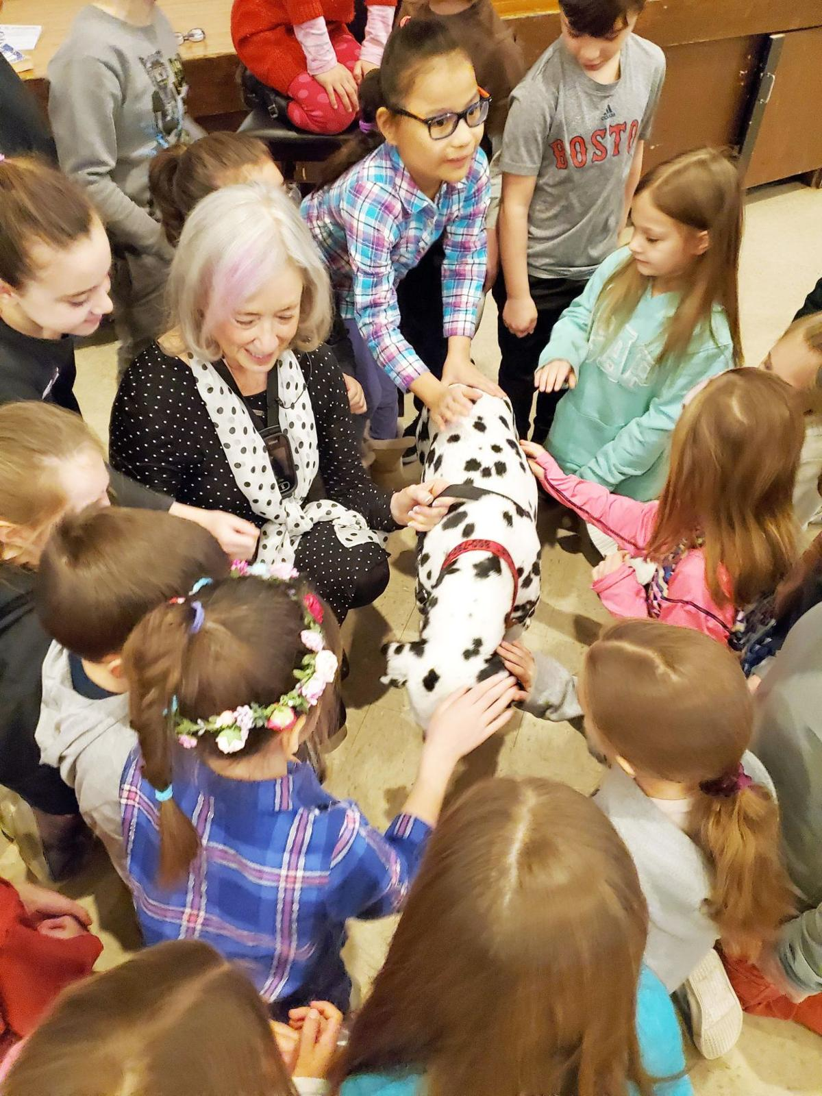 Killingworth author pens new book; the star is a beloved deaf Dalmatian