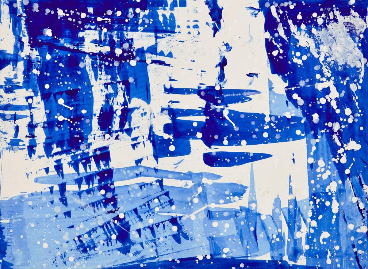 New Haven artist exhibits abstract kimono series at City Gallery