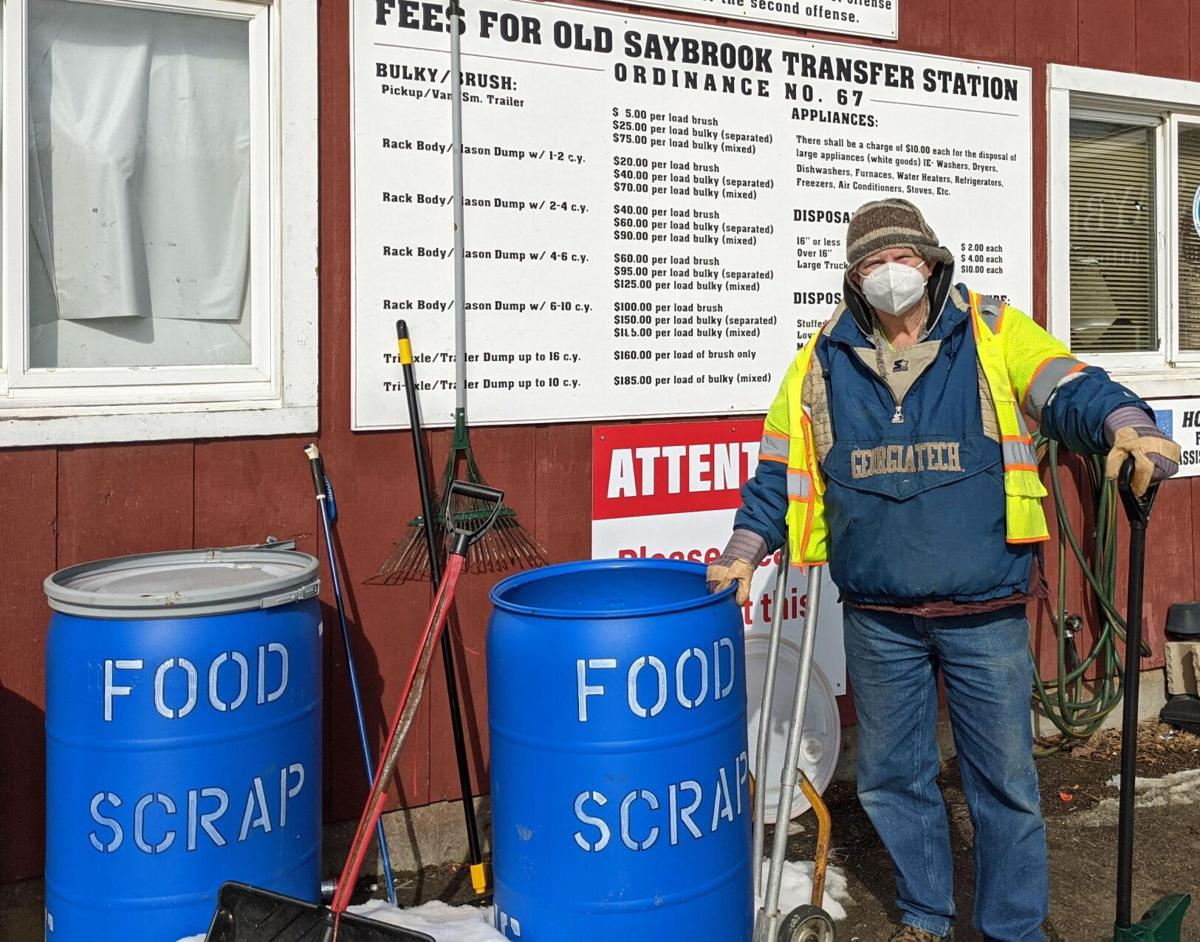 In Old Saybrook, from your table to local pig farm, in new recycling program