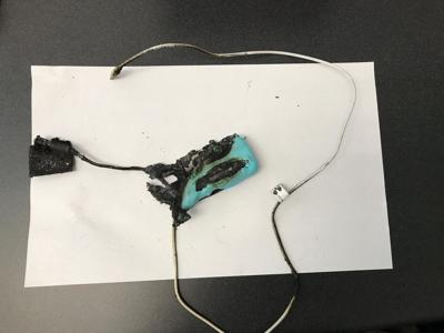 Firefighters urge caution after portable charger explodes in Guilford