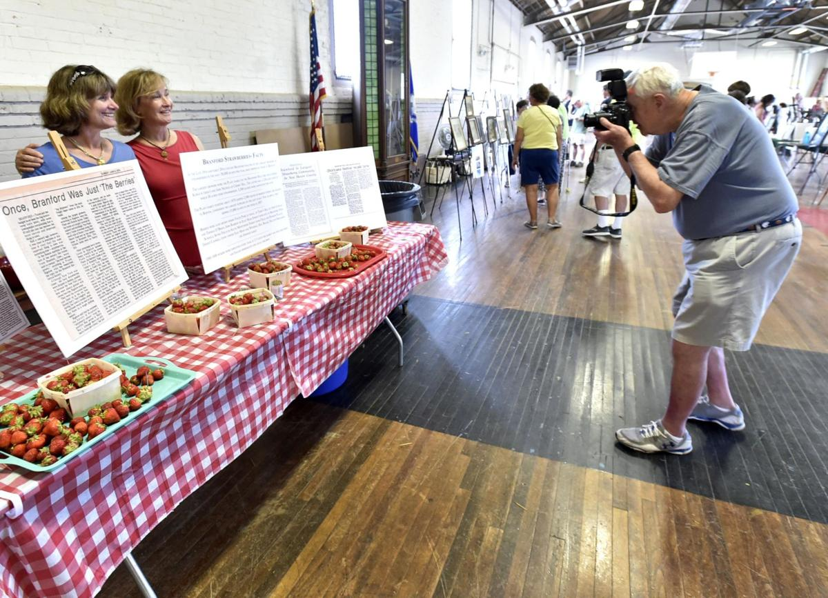 Celebrating history at the Branford Armory