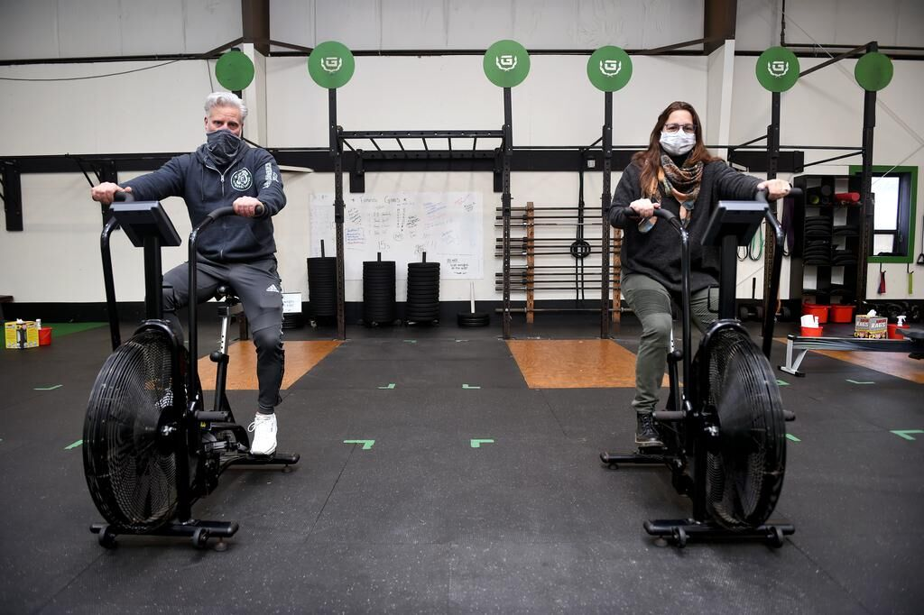 Just show up: Free program at Guilford Athletic Center combines workout with recovery meeting