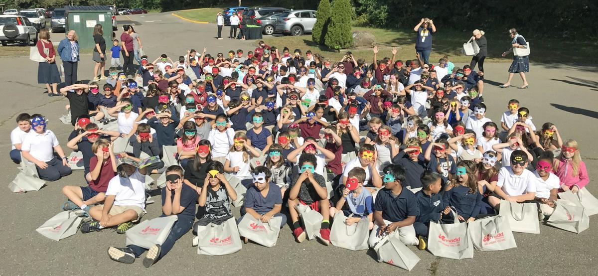 East Haven students support Branford MADD walk Oct. 13