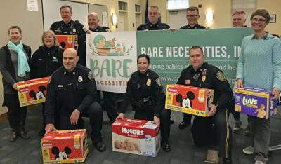Shoreline-area police departments come together to hold diaper drive