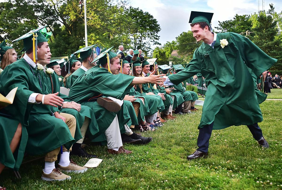 Nearly 300 graduate from Guilford High School