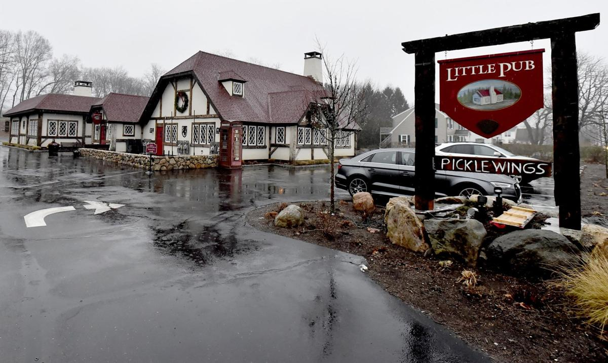 The Little Pub in Saybrook offers trad pub fare plus eclectic food, drink
