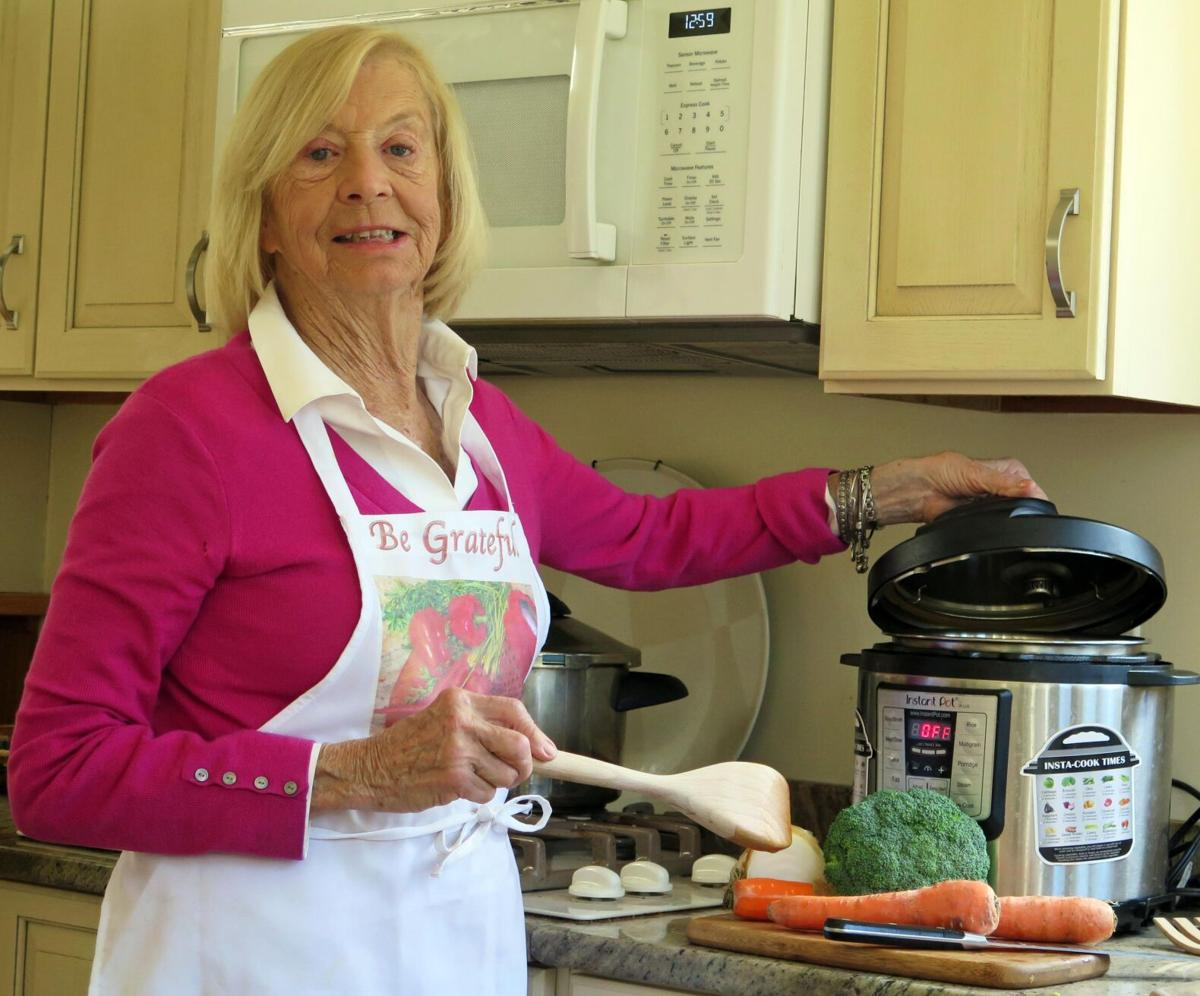 She loves her 'weird pot with a rounded dome' in 'A Steamy Affair With a Pressure Cooker'