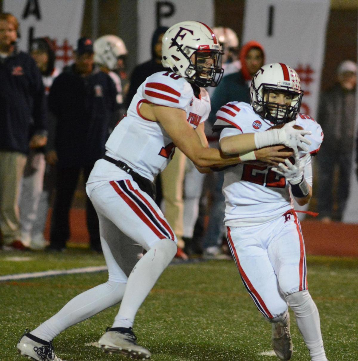 Kelly, Holmes shine for Branford in win over Foran
