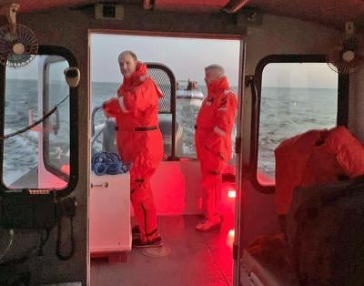 Officials: 6 rescued from boat on Long Island Sound in Clinton