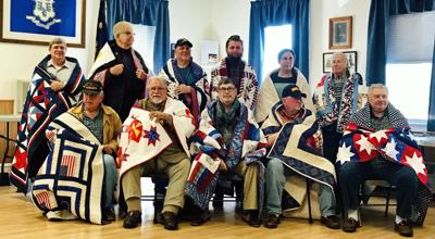11 vets honored at Quilts of Valor presentation; some marked by war's lingering effects