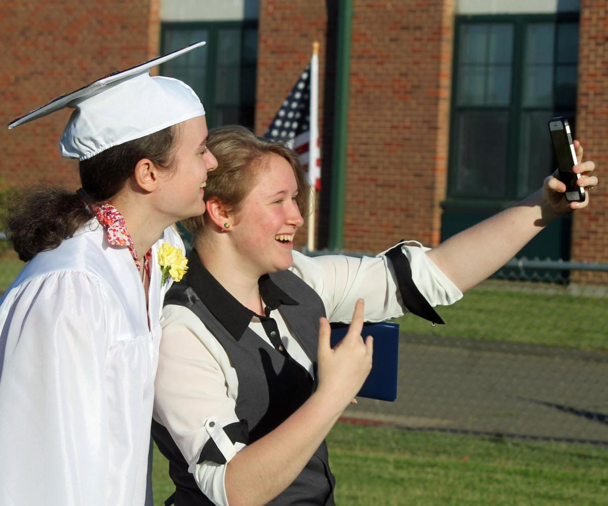Saybrook grads: 'Be yourself, never give up'
