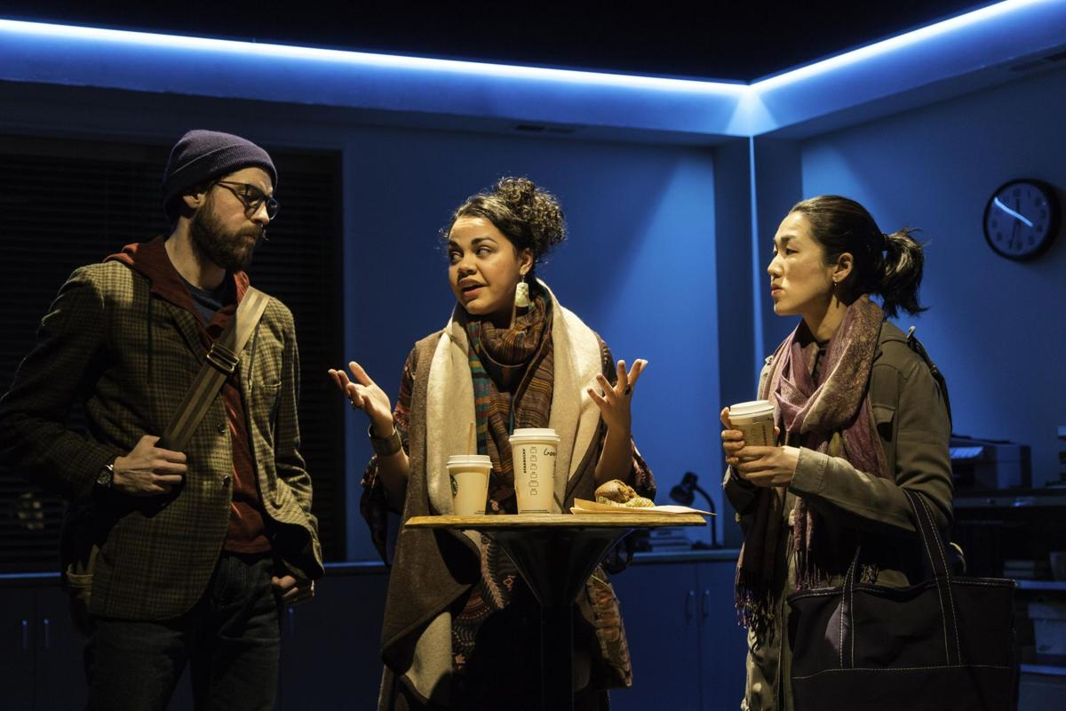 An electrifying Office Hour at Long Wharf Theatre