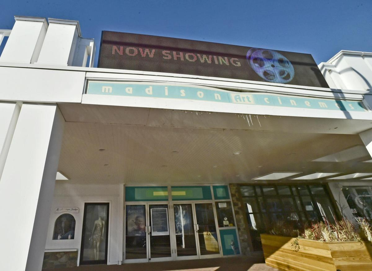 High-tech marquee for Madison Arts Cinema