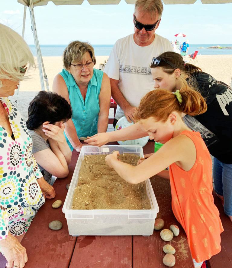 A beach-side church service aimed at those with special needs Aug. 11