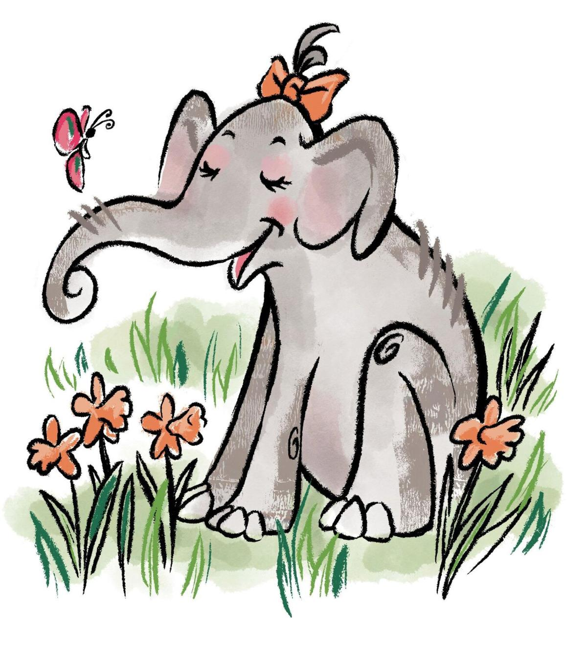 Cheery children's book about 'exceptional' elephant is fundraiser for shuttered Ivoryton Playhouse