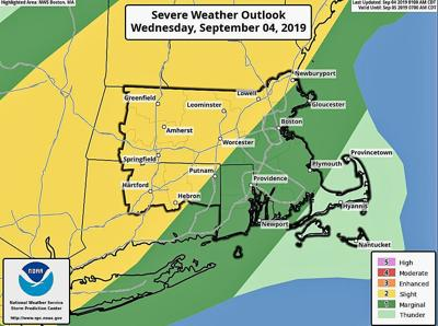 Severe thunderstorm watch posted for all of CT