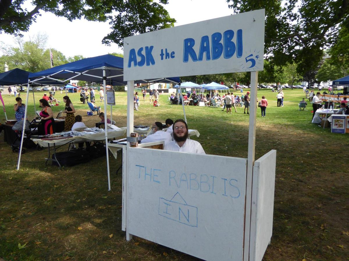 14th Shoreline Jewish Festival on Guilford Green July 14