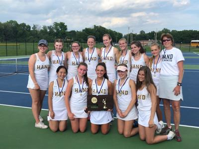Hand caps perfect season with Class M title over Lauralton Hall