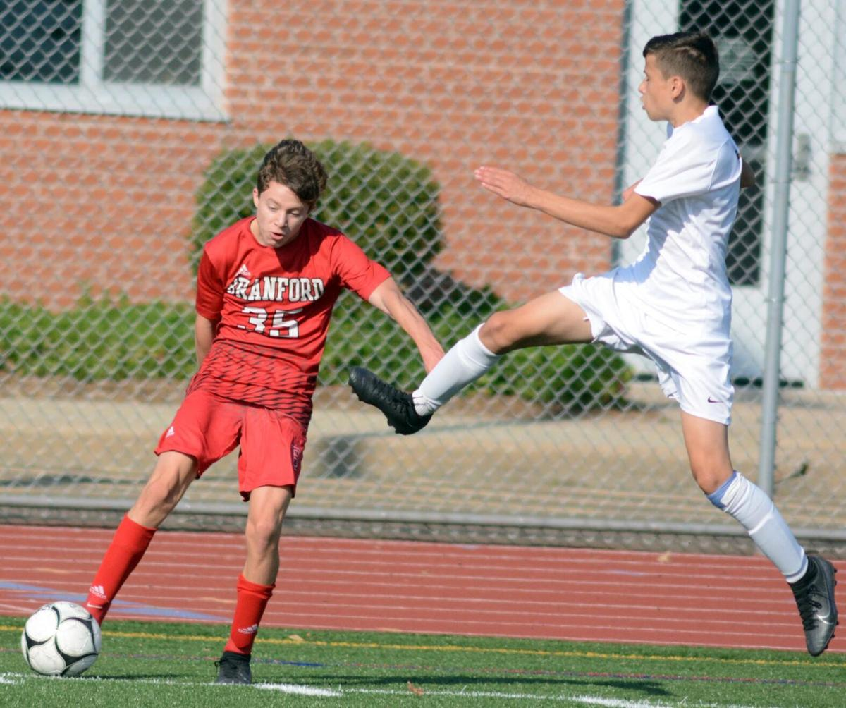 Branford rolls to win over East Haven