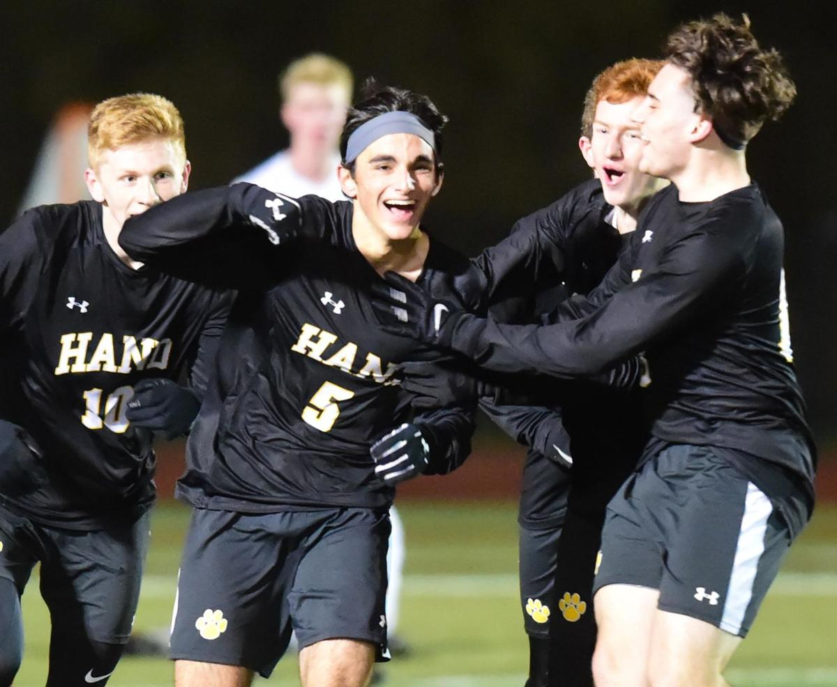 Hand on brink of claiming 4th straight state title