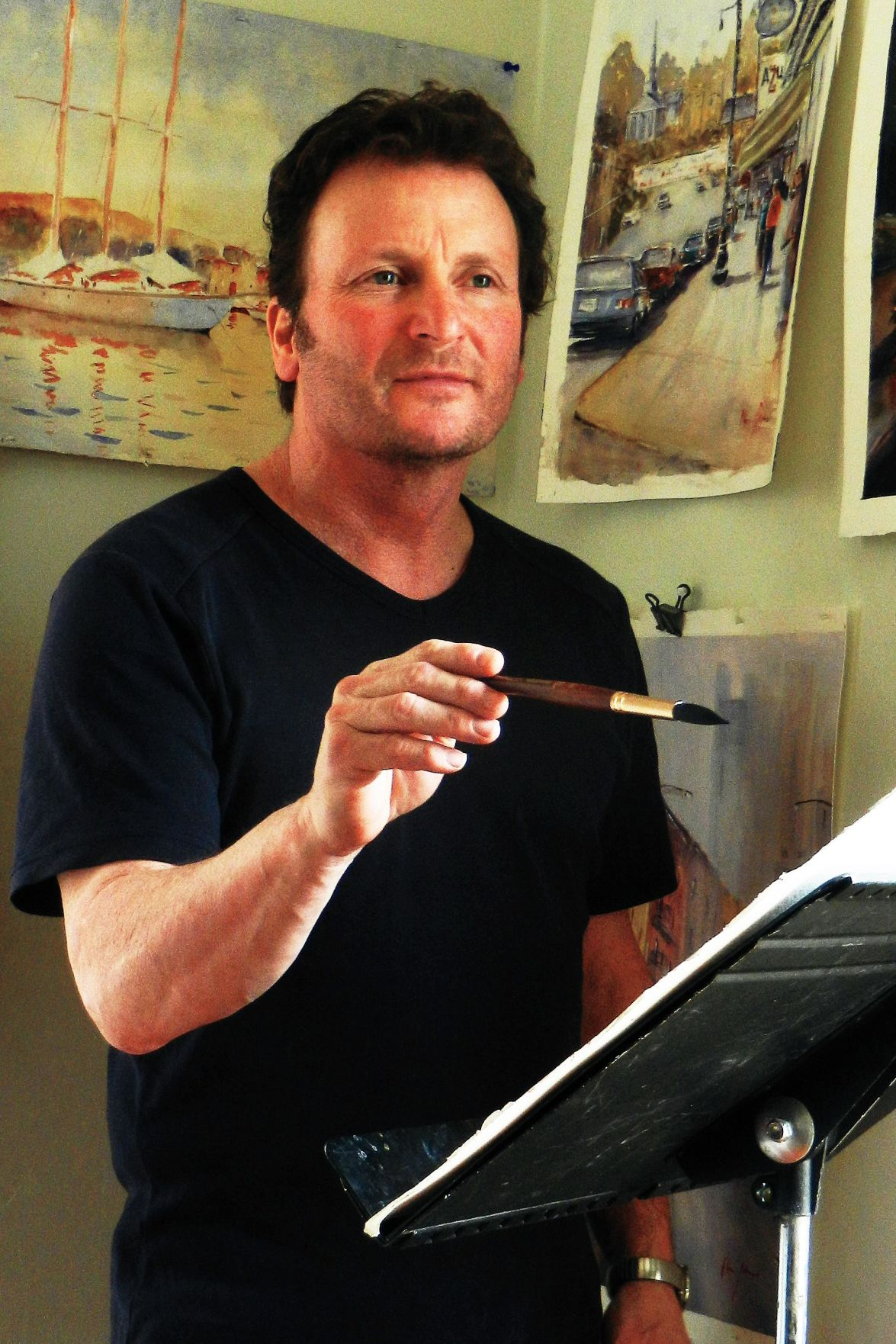 Deep River watercolorist among 6 American artists to be featured on Aussie TV show