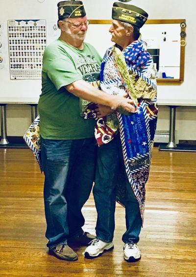 VFW Post 12106 veteran makes Quilt of Valor for his brother-in-law