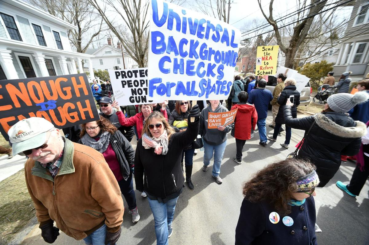 March for Our Lives: Thousands fill Guilford Green for gun-control rally