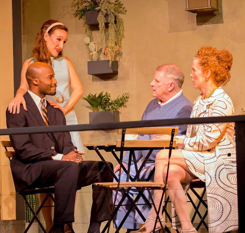 Guess Who's Coming To Dinner still provocative at Ivoryton Playhouse