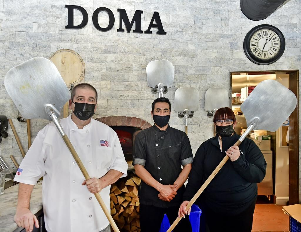 'Tastes like home.' Doma on Main in Branford features wood-fired, brick oven pizza