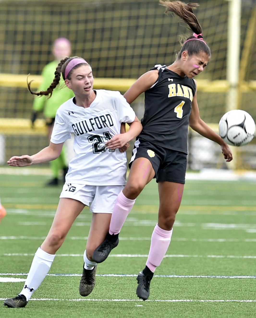 Guilford girls soccer tops Hand, posts eighth shutout