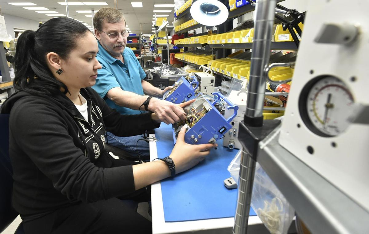 Guilford company working overtime to manufacture ventilators for coronavirus patients