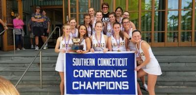 Hand boys and girls tennis teams take home SCC championships