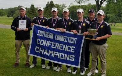 Hand dominates, runs away with SCC golf championship
