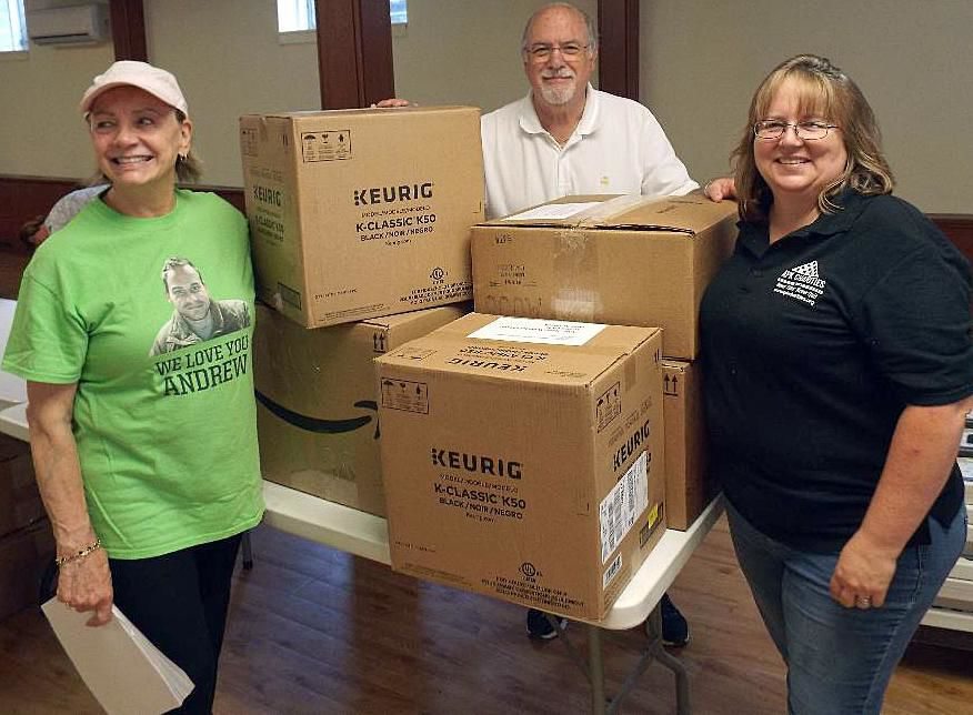 Shoreline group provides deployed soldiers with the comforts of home