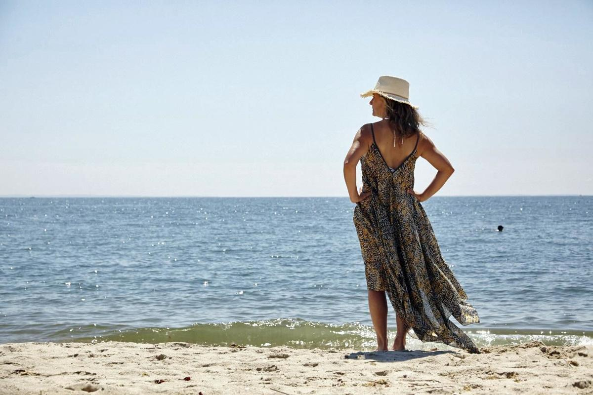 IT'S MY BUSINESS: Fria, new free-spirited clothing line, created on shoreline