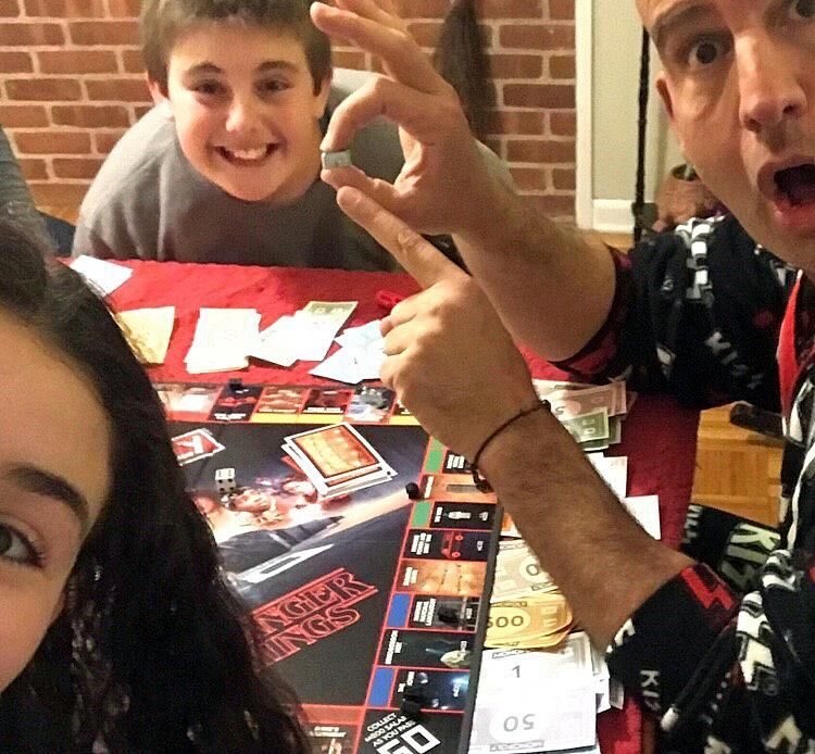 Board games during lock-down with the kids meant lots of squabbling over rules