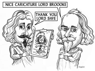 Dougal wins with Old Saybrook Cartoon