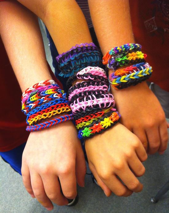 It S Like A Rainbow Rubber Band Bracelets For Young Set Come In Many Colors