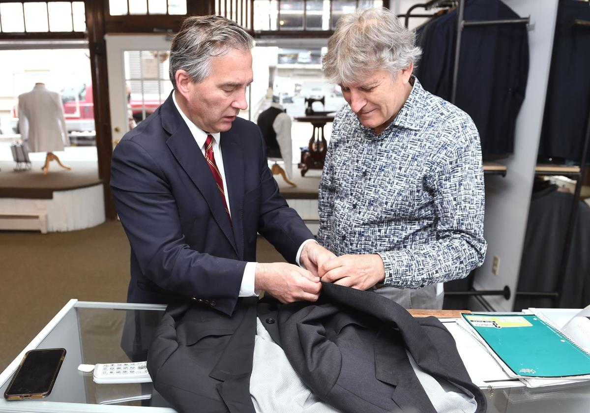 Tailor outfits shoreline's movers and shakers